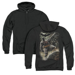 Image for Batman Zip Up Back Print Hoodie - Family