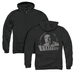 Image for Star Trek Zip Up Back Print Hoodie - Khaaaaan Distressed