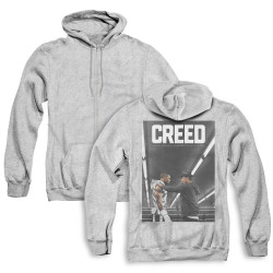 Image for Creed Zip Up Back Print Hoodie - Poster