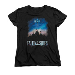 Image for Falling Skies Woman's T-Shirt - Main Players