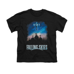 Image for Falling Skies Youth T-Shirt - Main Players