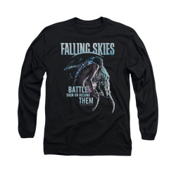 Image for Falling Skies Long Sleeve T-Shirt - Battle or Become