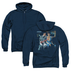 Image for Scorpions Zip Up Back Print Hoodie - Love Drive