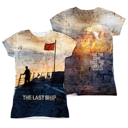 The Last Ship Girls T-Shirt - Sublimated Captain