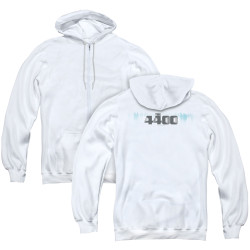 Image for The 4400 Zip Up Back Print Hoodie - Logo