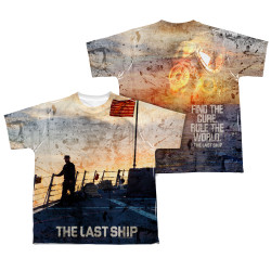 The Last Ship Youth T-Shirt - Sublimated Captain