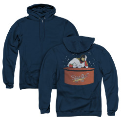 Image for Space Ghost Coast to Coast Zip Up Back Print Hoodie - Great Galaxies
