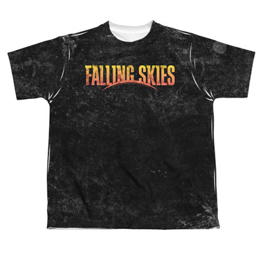 Image for Falling Skies Youth T-Shirt - Sublimated Harness 100% Polyester