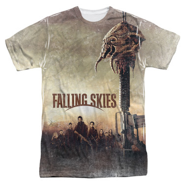 Image for Falling Skies T-Shirt - Sublimated Skitter Head