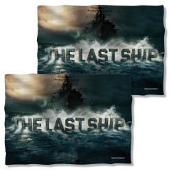 The Last Ship Pillow Case - Out to Sea