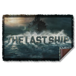 Image for The Last Ship Woven Throw Blanket - Out to Sea