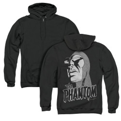 Image for The Phantom Zip Up Back Print Hoodie - Inked