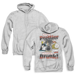 Image for Hagar The Horrible Zip Up Back Print Hoodie - Pretty