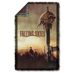 Image for Falling Skies Woven Throw Blanket - Skitter Head