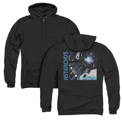 Image for Atari Zip Up Back Print Hoodie - 2600 Asteroids