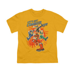 Image for Power Rangers Dino Charge Youth T-Shirt - Charged Up