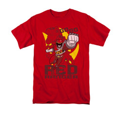 Image for Power Rangers Dino Charge T-Shirt - Go Red