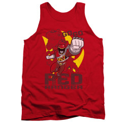 Image for Power Rangers Dino Charge Tank Top - Go Red