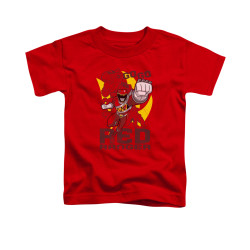 Image for Power Rangers Dino Charge Toddler T-Shirt - Go Red