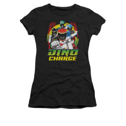 Image for Power Rangers Dino Charge Girls T-Shirt - Dino Lightning