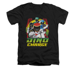 Image for Power Rangers Dino Charge V-Neck T-Shirt Dino Lightning