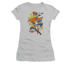 Image for Power Rangers Dino Charge Girls T-Shirt - Swords Out