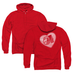 Image for Studio 54 Zip Up Back Print Hoodie - I Heart Studio 54