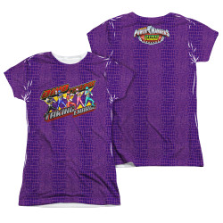 Image Closeup for Power Rangers Girls Sublimated T-Shirt - Taking Charge