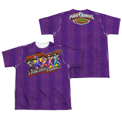 Image Closeup for Power Rangers Youth Sublimated T-Shirt - Taking Charge