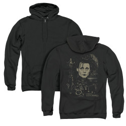 Image for Edward Scissorhands Zip Up Back Print Hoodie - Edward