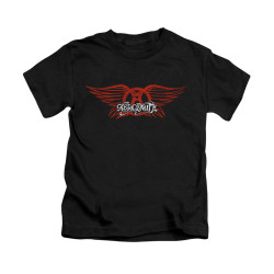 Image for Aerosmith Kids T-Shirt - Winged Logo