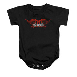 Image for Aerosmith Baby Creeper - Winged Logo