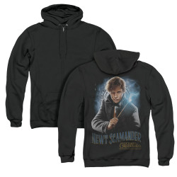 Image for Fantastic Beasts: the Crimes of Grindelwald Zip Up Back Print Hoodie - Scamander Monogram