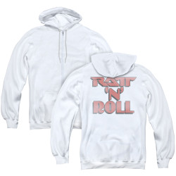 Image for Ratt Zip Up Back Print Hoodie - Ratt 'n Roll