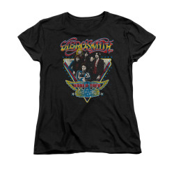 Image for Aerosmith Woman's T-Shirt - Triangle Stars