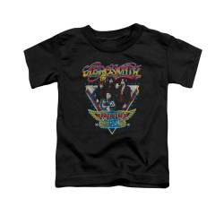 Image for Aerosmith Toddler T-Shirt - Triangle Stars