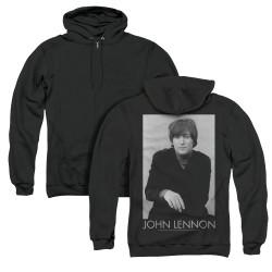 Image for John Lennon Zip Up Back Print Hoodie - Ex Beatle