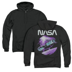 Image for NASA Zip Up Back Print Hoodie - Come Together
