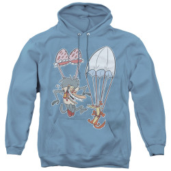 Image for I am Weasel Sky Diving Hoodie