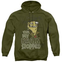 Image for Ed Edd n Eddy Brain Dead Ed Hoodie