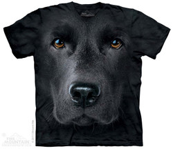 Image for The Mountain T-Shirt - Black Lab Face