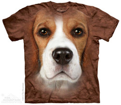 Image for The Mountain T-Shirt - Beagle Face