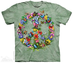 Image for The Mountain T-Shirt - Butter Dragon Peace