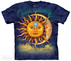 Image for The Mountain T-Shirt - Sun Moon