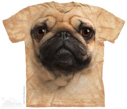 Image for The Mountain T-Shirt - Pug Face