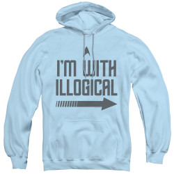 Image for Star Trek Hoodie - I'm With Illogical