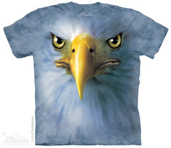 Image for The Mountain T-Shirt - Eagle Face
