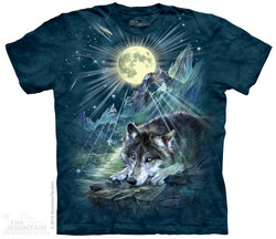 Image for The Mountain T-Shirt - Wolf Night Symphony