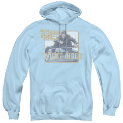 Image for Knight Rider Hoodie - Back Seat