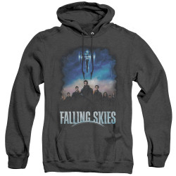 Image for Falling Skies Heather Hoodie - Main Players